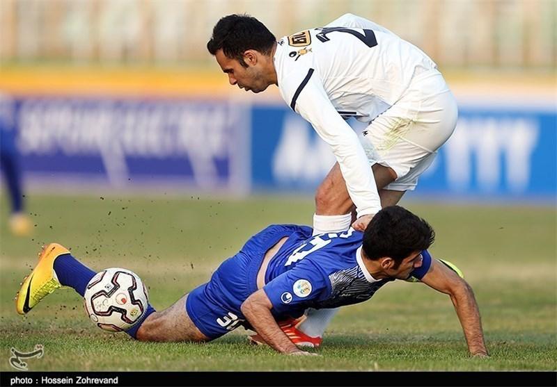 استقبال ضعیف تماشاگران و خبرنگاران از بازی استقلال خوزستان و صبای قم