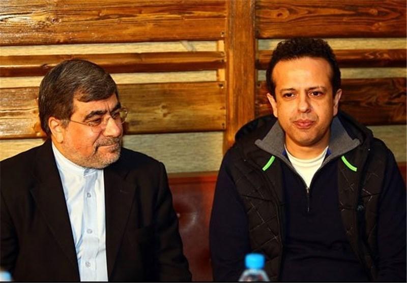 بازدید علی جنتی از «نهنگ عنبر» سامان مقدم
