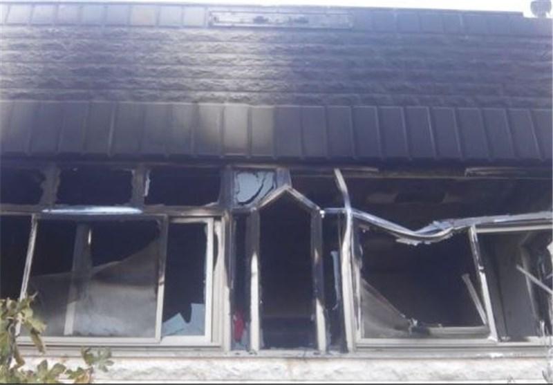 آتش زدن منزل فلسطینی