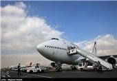 نخستین هواپیما از فرودگاه سمنان به پرواز درآمد+فیلم