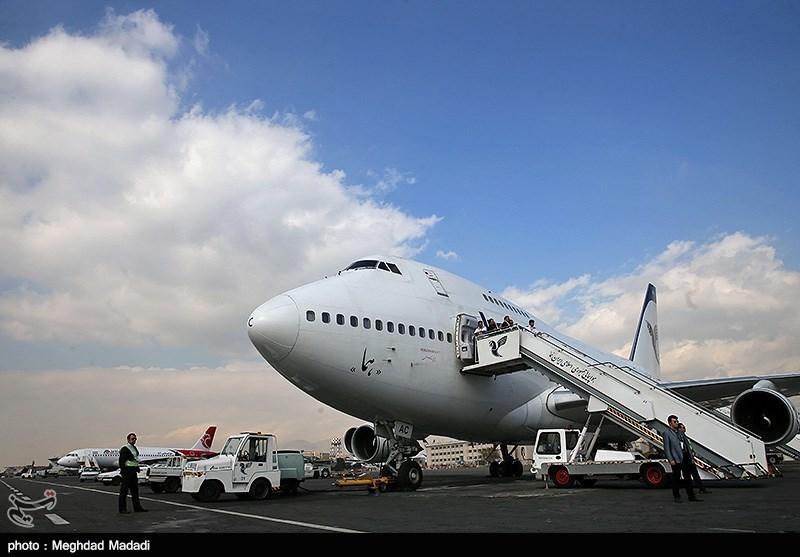 پروازهای رفت و برگشت ایران به چین متوقف شد