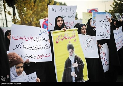 Students Voice Support for Iran's Nuclear Program