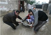 Israel Opens Dams Forcing Hundreds of Gazans out of Flooded Houses
