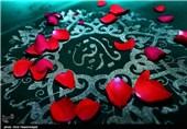 بزرگترین سفره ی نذری حضرت رقیه (س)-قم