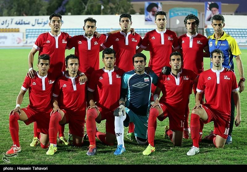 ایران با 7 گل کویت را شکست داد