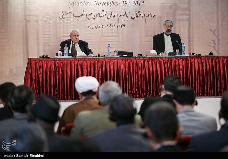 صالح الزواوی سفیر فلسطین در ایران و صالح الزواوی سفیر فلسطین در ایران