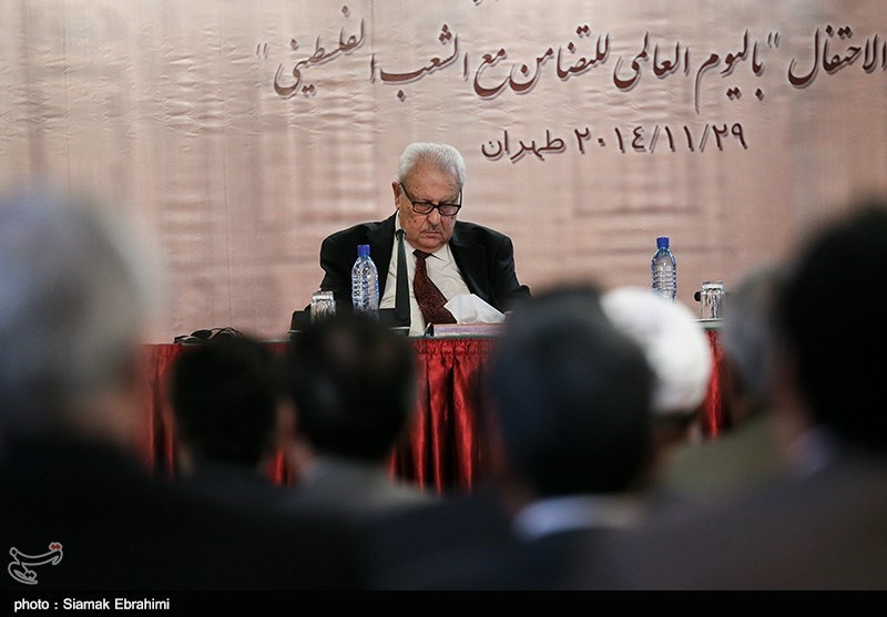 صالح الزواوی سفیر فلسطین در ایران