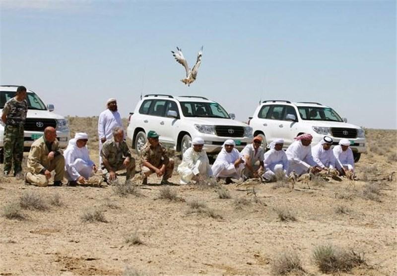 متحدہ عرب امارات سے شکار کےلئے آئے قافلے پر حملہ