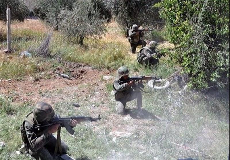 "قوات الجیش السوری تشنّ هجوما عنیفا على العصابات الإرهابیة فی ""داریا"" بریف دمشق"