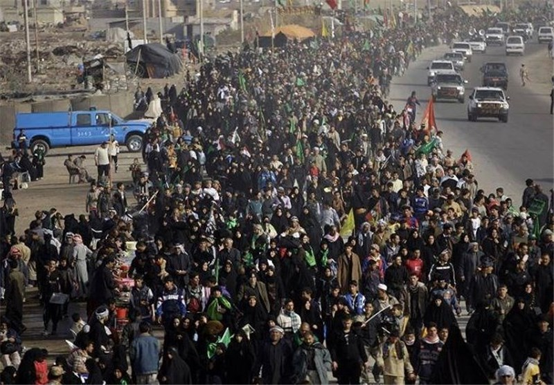 مصادر محلیة بمدینة البصرة:400 الف زائر ایرانی عبر منفذ شلمجة لإحیاء اربعین الامام الحسین (ع)