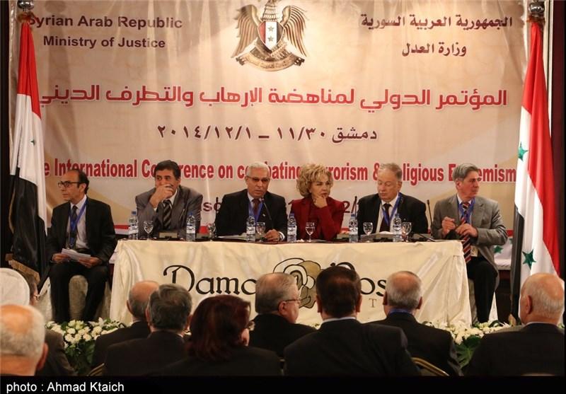 دمشق تستضیف المؤتمر الدولی لمناهضة الإرهاب والتطرف الدینی بمشارکة 25 دولة+ صور