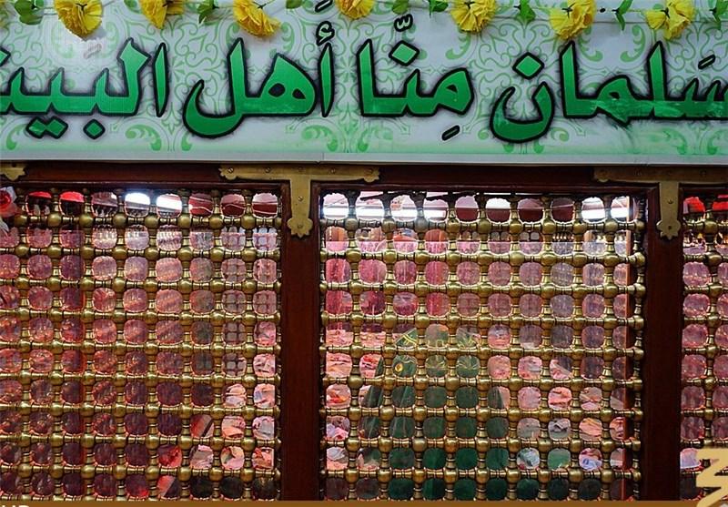 رئیس لجنة اعادة اعمار العتبات المقدسة: قبر الصحابی سلمان الفارسی (رض) یتم صیانته قریبا