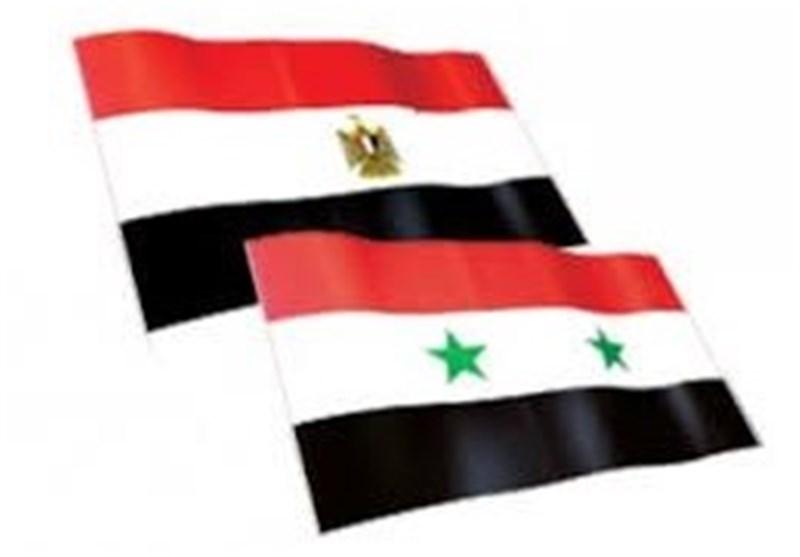 سوریا تعمل على إعادة علاقاتها مع مصر