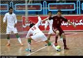 دیدار دوستانه تیمهای ملی فوتسال ایران و روسیه - قم