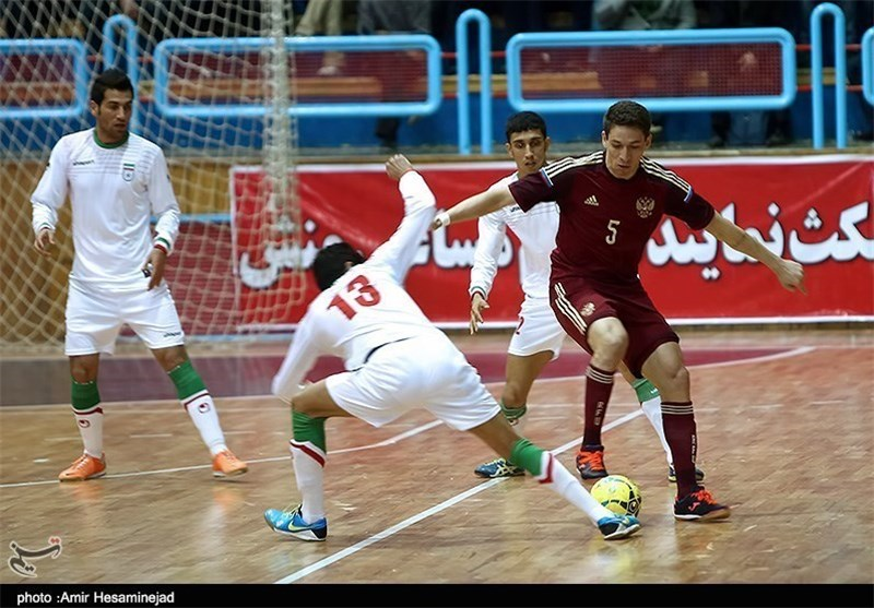 Iran Futsal Team Loses to Italy in Friendly