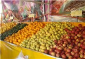 ذخیره 70 هزار تن سیب و پرتقال برای شب عید