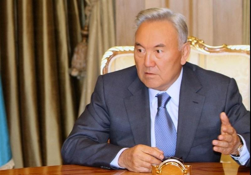 نورسلطان نظربایف رئیسجمهور قزاقستان
