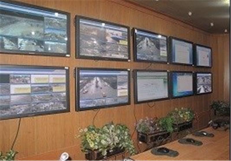 سالن مانیتورینگ پلیس راهور قم افتتاح شد