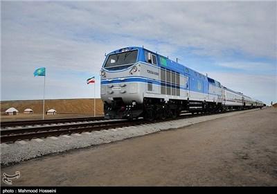 افتتاح راه آهن