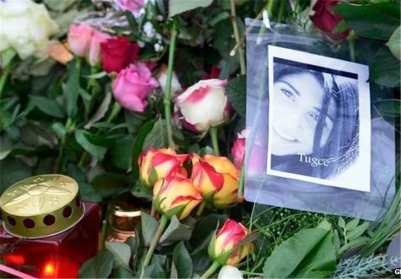 تشییع جنازه دختر آلمانی