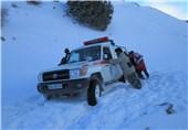 گرفتار در برف