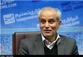 حضور نصرالله سجادی معاون وزیر ورزش در خبرگزاری تسنیم