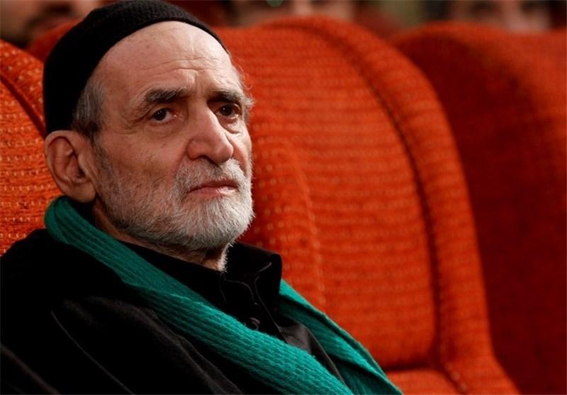مداح معروف تهران در بستر بیماری