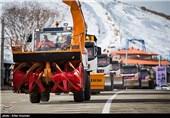 رزمایش ترافیکی طرح زمستانی 1393