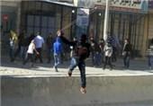 تداوم درگیری نظامیان صهیونیست با فلسطینیان در کرانه باختری
