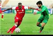 دیدار تیم های فوتبال تراکتورسازی و ذوب آهن - تبریز