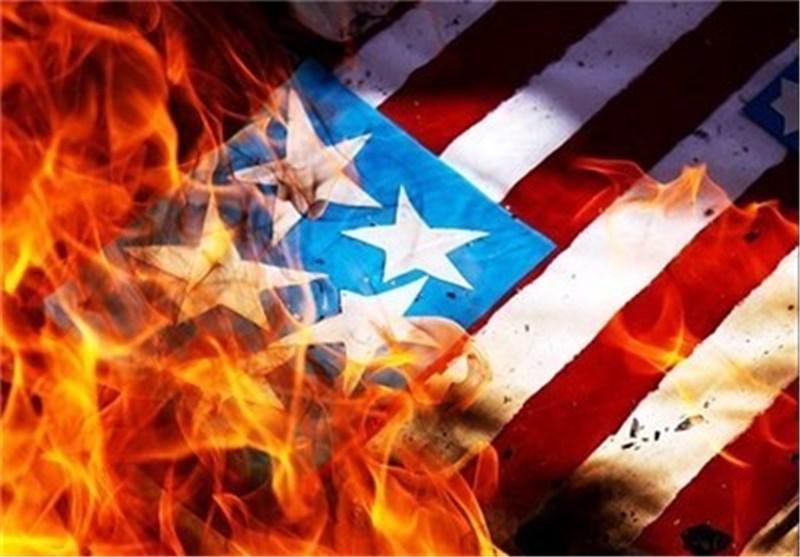 دانشجویان فردا پرچم 239 متری آمریکا را آتش میزنند