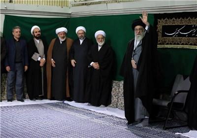 مراسم عزاداری اربعین حسینی(ع) در حضور امام خامنهای برگزار شد