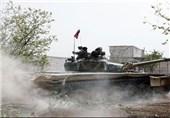 حملات کوبنده ارتش سوریه به مواضع تروریستها و تلفات سنگین مزدوران خارجی