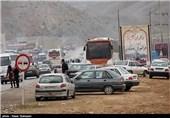 مسیر چوار-ایوان-کرمانشاه مسیر بدون ترافیک برای بازگشت زائران