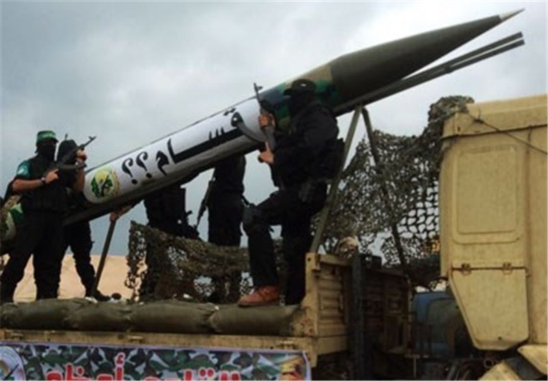 Filistin Direniş Güçleri, Siyonist Yerleşkeleri Füzeyle Hedef Aldı