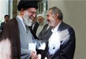 تصویر منتشرنشده از دیدار امام خامنهای با خانواده مرحوم پرورش + عکس