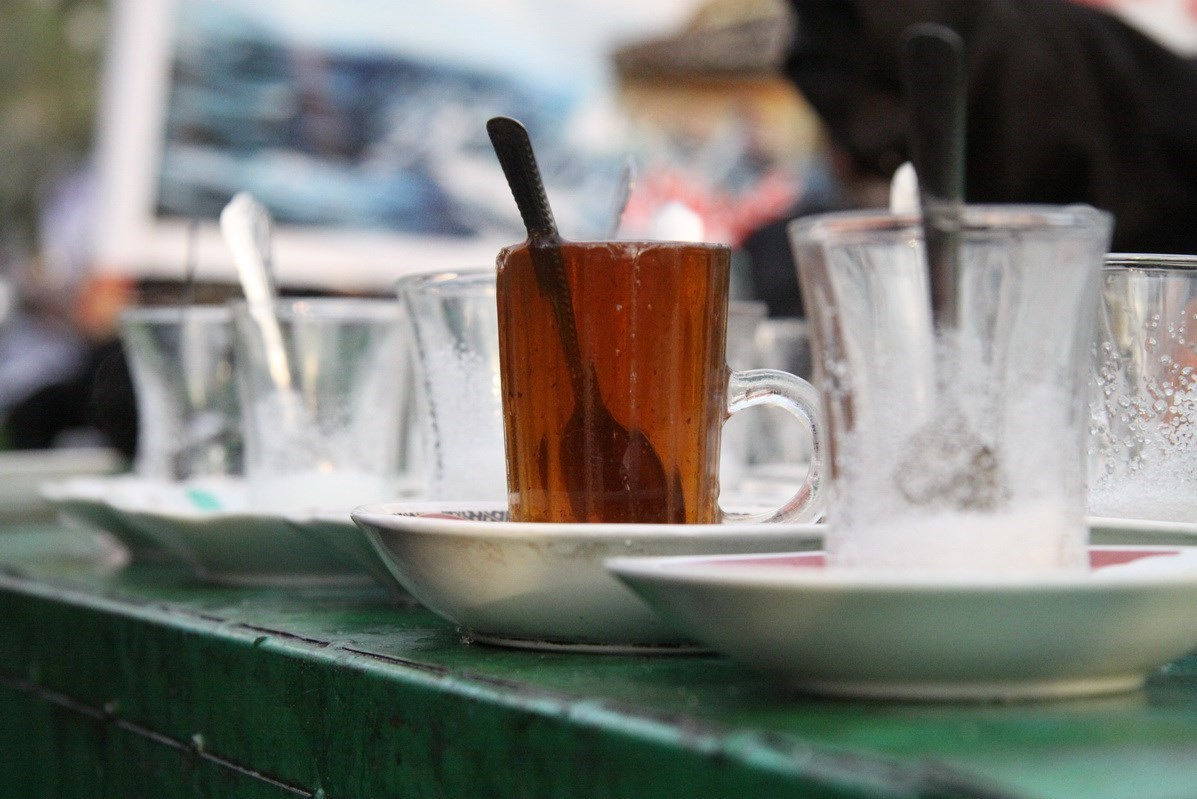 عکس چای اربعین