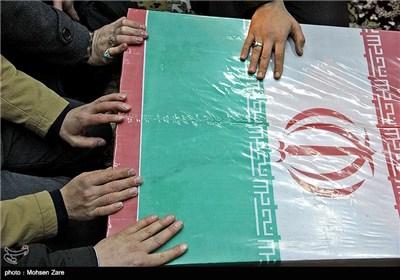 خوزستان| 115 لاله گلگون کفن از مرز شلمچه وارد میهن شدند
