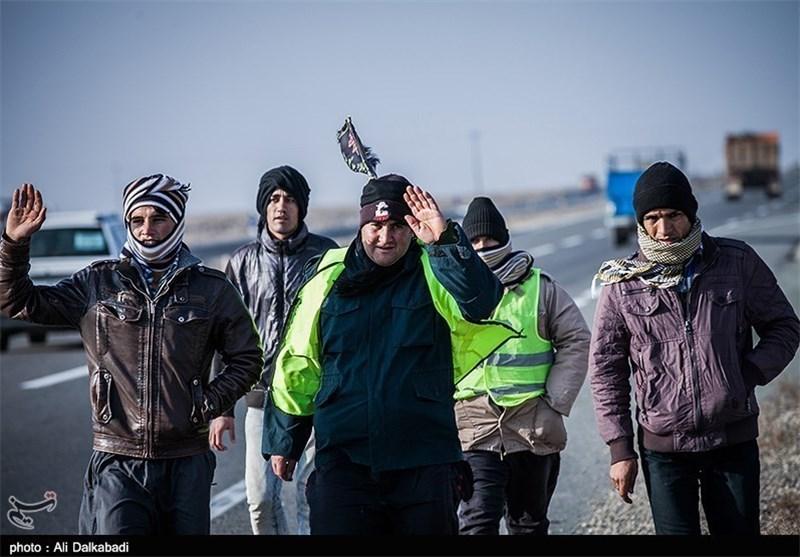 آمار زائران پیاده ورودی به مشهد مقدس رکورد شکست/ ورود بیش از 357 هزار زائر پیاده به مشهدالرضا(ع)