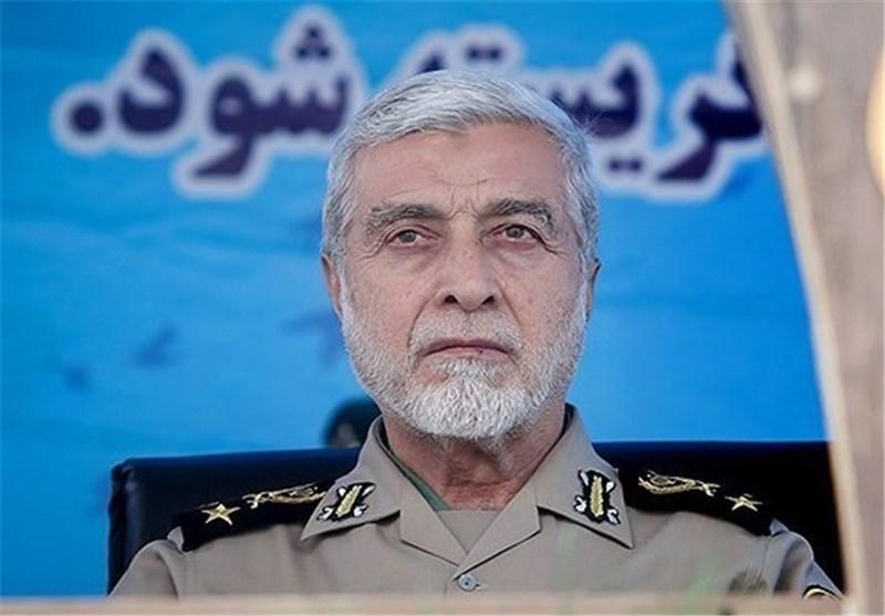 سرلشکر صالحی فرمانده کل ارتش