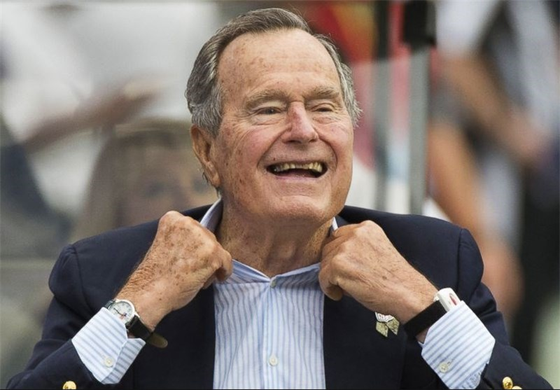 Former US President George H.W. Bush Hospitalised after Fall