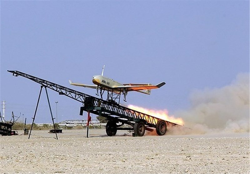 Iranian-Made Mohajer Drones Fly in Army Drills