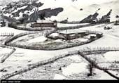 طبیعت زمستانی اسالم به خلخال