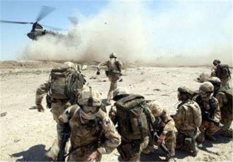 350 جندی أمریکی یقومون بعملیة انزال جوی فی مدینة ربیعة العراقیة