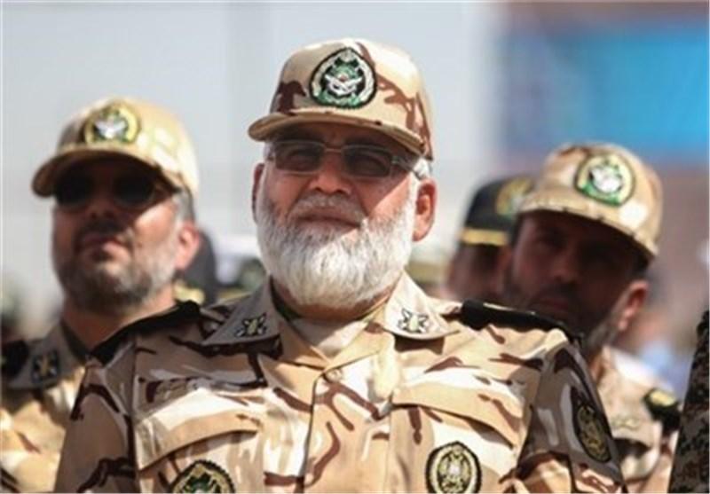 قائد سلاح البر فی الجیش: نوفر أمن زوار الأربعین عبر طائرات دون طیار وتنظیم الدوریات الجویة
