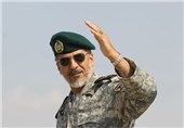 """افتتاح یادمان شهید گمنام پایگاه دریایی منجیل توسط """"دریادار سیاری"""""""