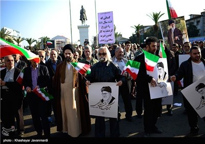 Iranians Rally to Mark Anniversary of Dey 9