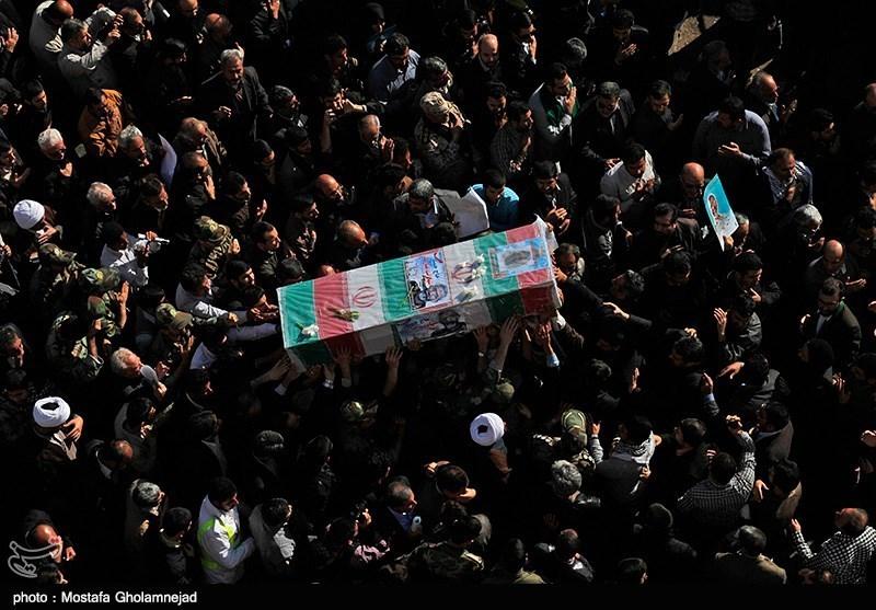 مراسم تشییع و خاکسپاری پیکر سردار شهید حمید تقوی