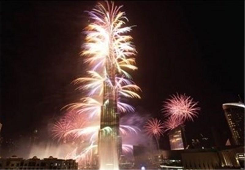 احتفالات ضخمة تعم مدن العالم فی استقبال العام المیلادی الجدید