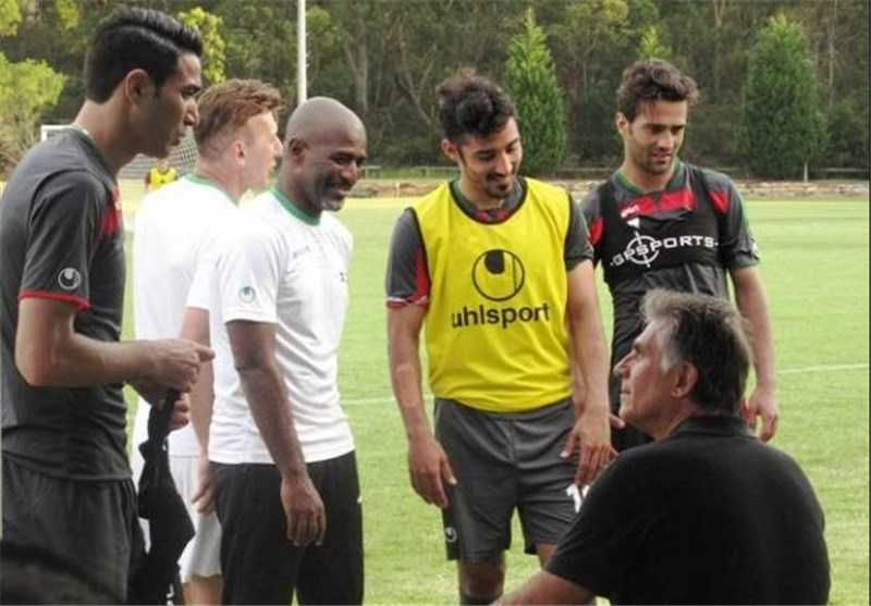 Iranian National Football Team's Training in Sydney in Pictures